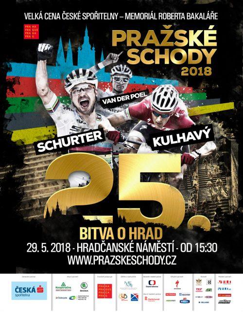 Plakát Pražské schody 2018