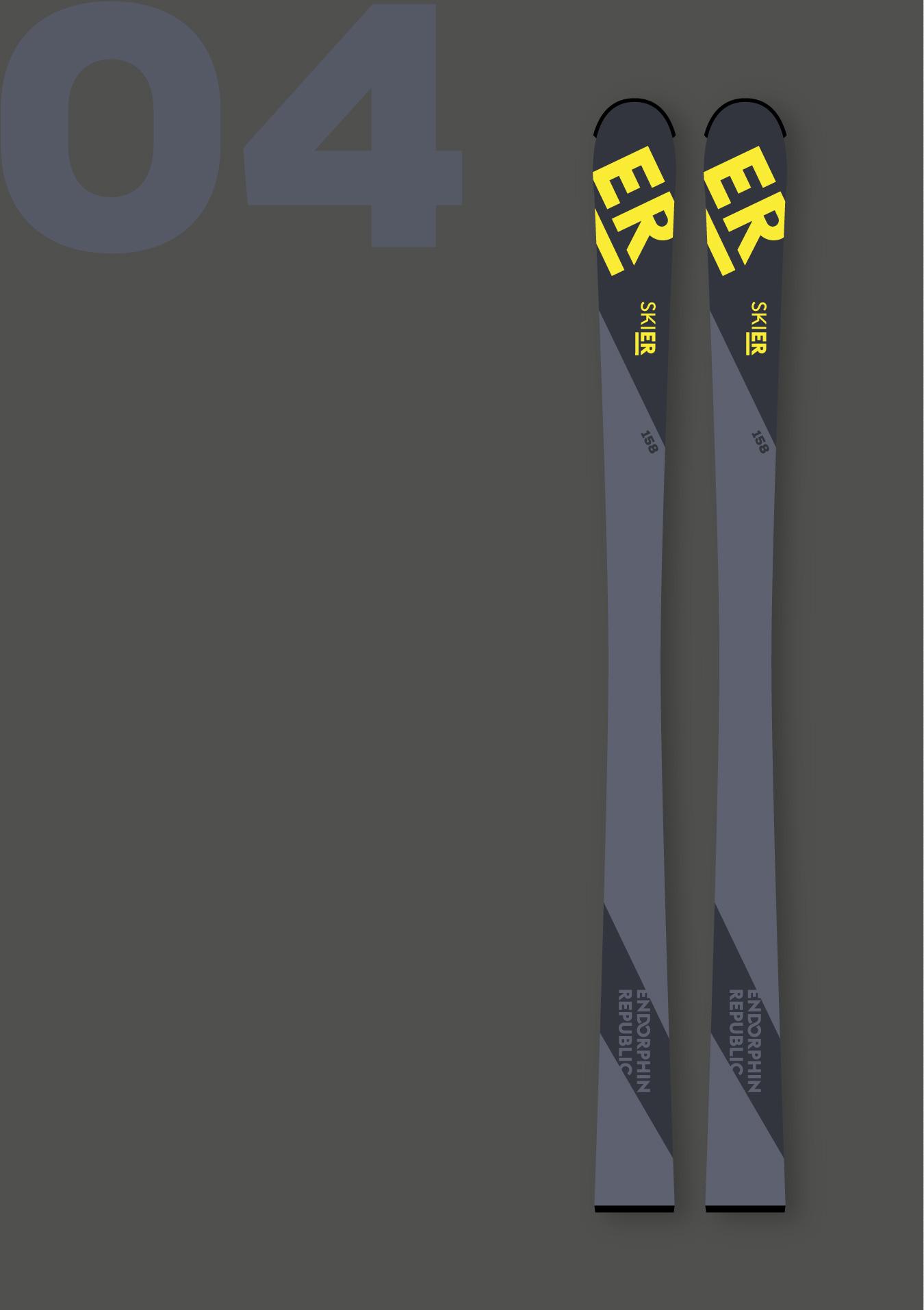 Endorphin Republic Ski design