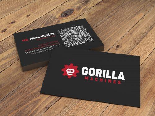 Vizitka Gorilla Machines s.r.o.