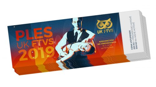 Vstupenka UK FTVS